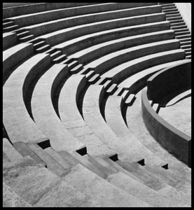 Mills College Amphitheater, about 1920
