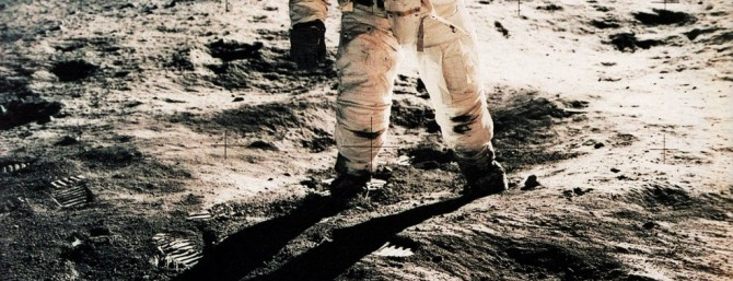 Armstrong Neil - Buzz Aldrin on the Moon