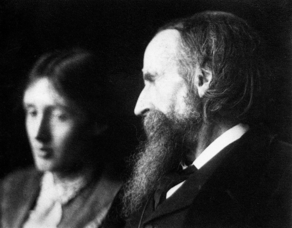 G C Beresford Leslie Stephen and his Daughter Virginia
