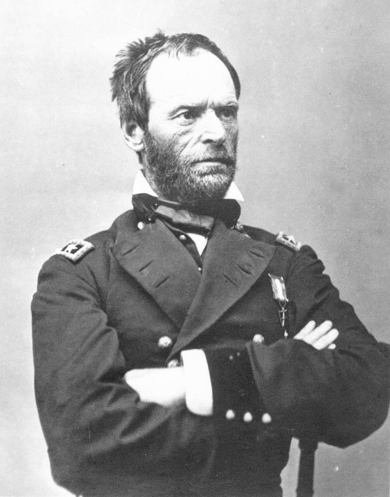 Brady Mathew B General William Tecumseh Sherman