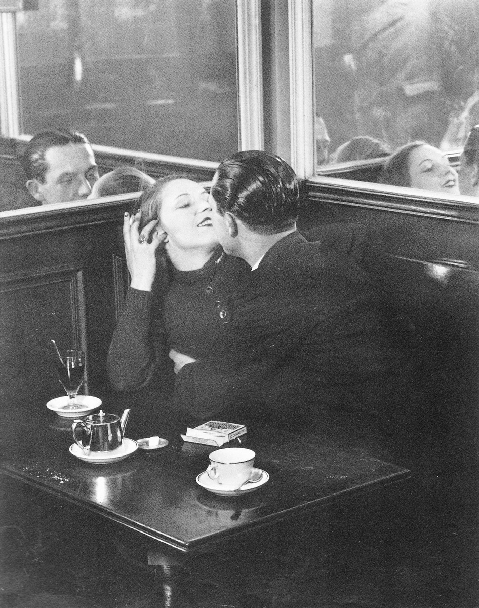 Brassai Lovers in a Cafe