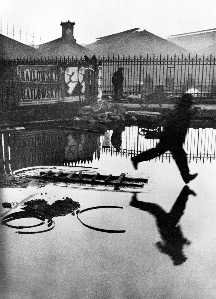 "Henri Cartier ""Bresson Place de l'Europe"""