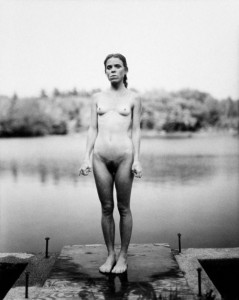 Nude at the pond, 1980