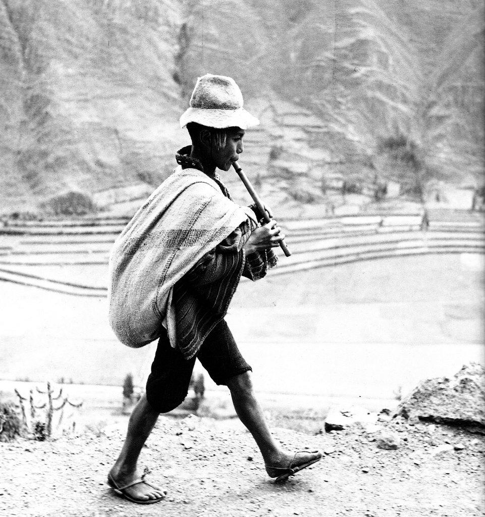 Werner Bischof Andean Boy Cuzco