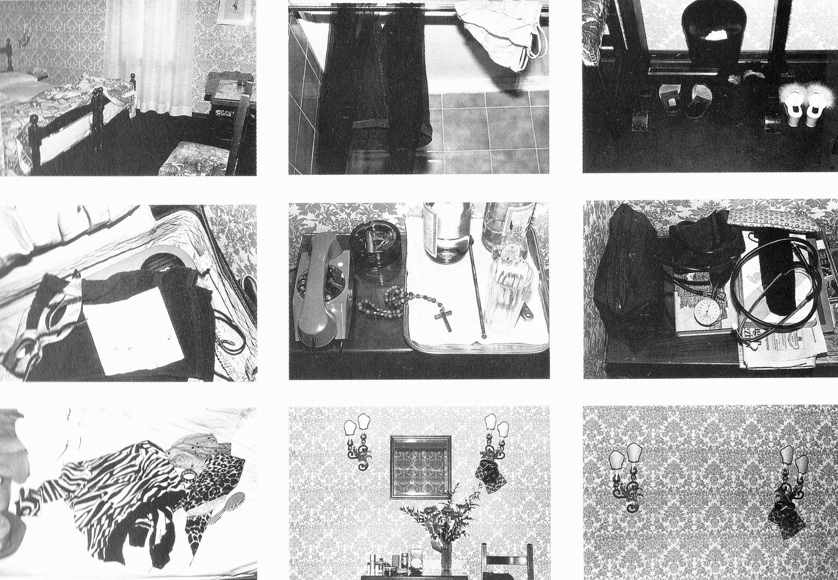 """Sophie Calle """"The Hotel, Room 44"""""""