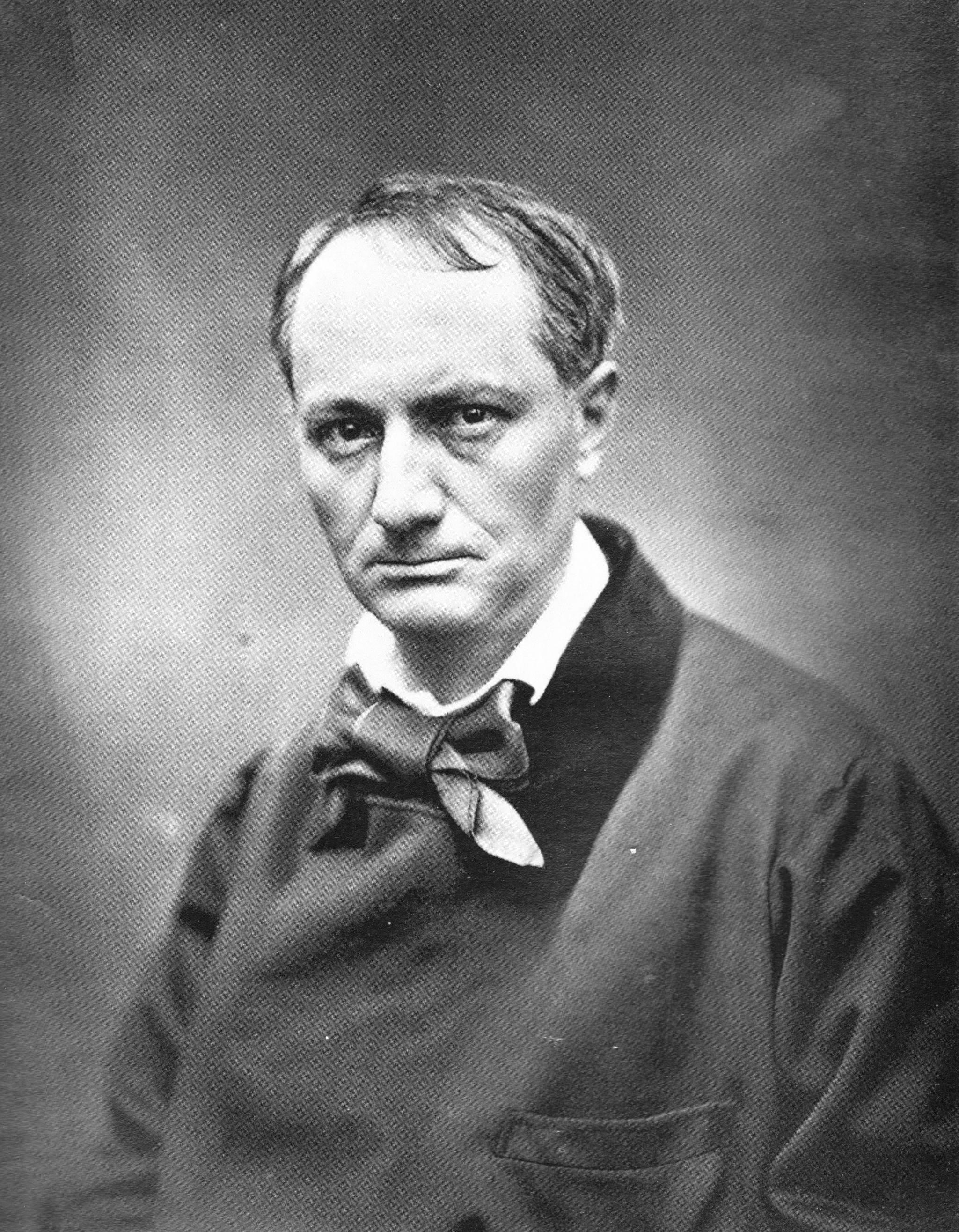 """Etienne Carjat """"Charles Baudelaire"""""""